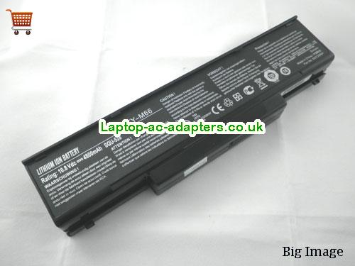 MSI Zoostorm W76T Laptop Battery 4400mAh