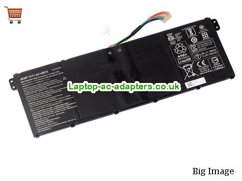 ACER AC14B7K Battery For 	Spin 5 SP51551GN Series Laptop