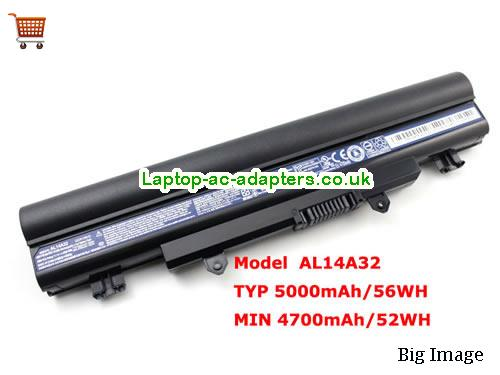 Genuine AL14A32 Battery for Acer Aspire E1-571 E1-571G Series Laptop