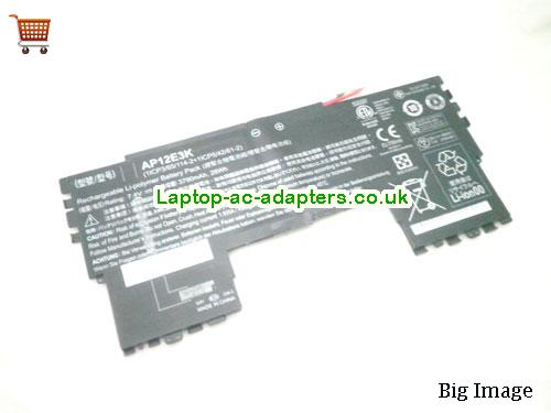 ACER AP12E3K Aspire S7-191 laptop battery 28Wh
