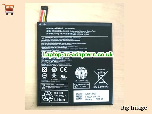 Acer AP14E4K Iconia One7 B1-750 Laptop Battery