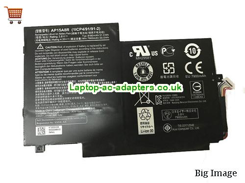 Genuine ACER AP15A8R Battery 31.0Wh 8130mah