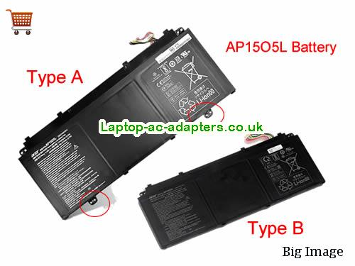 Genuine ACER AP15O5L AP1505L Battery For CHROMEBOOK R13 SERIES