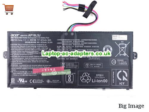 ACER AP16L5J Battery For Aspire SWIFT 5 Series 36wh 7.7V Li-ion