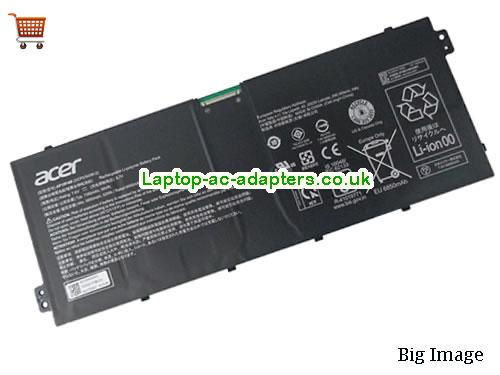 Genuine Acer AP18F4M Battery Rechargeable Li-Polymer 2ICP5/54/90-2 7.6v 52Wh
