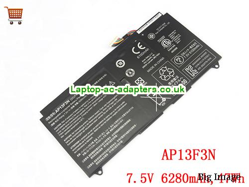 Genuine AP13F3N Battery For ACER Aspire S7-392 Ultrabook