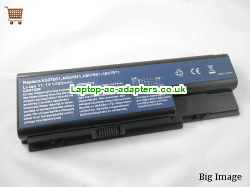 ACER AS07B31 AS07B41 AS07B51 AS07B61 Replacement Laptop Battery for Acer Aspire 5920 5920G Aspire 5520 5520G 7720 Laptop