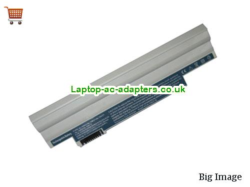 ACER AL10B31,AL10BW,Aspire One D260 Series Laptop Battery White