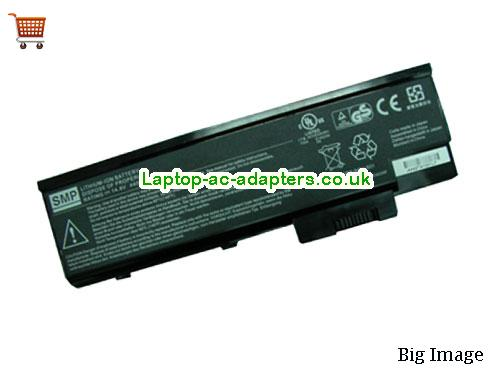 ACER 916C4220F,SQU-501,Acer GR8 Series Laptop Battery Black