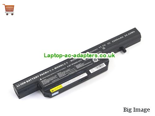 CLEVO ZooStorm 9040 Laptop Battery 2200mAh, 24.42Wh