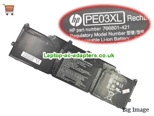 HP PE03XL Battery For Chromebook 11 G3 Series
