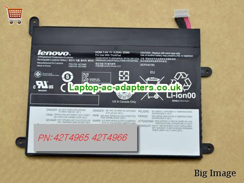 LENOVO THINKPAD 1838 Laptop Battery 25Wh, 3.25Ah