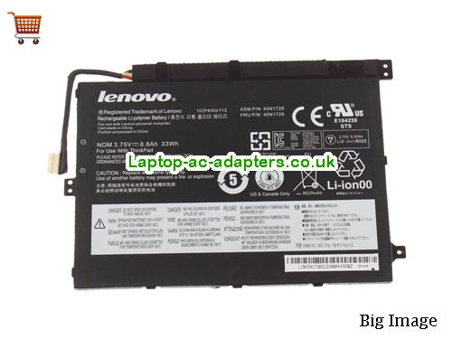 LENOVO 45N1729 Battery 33Wh, 8.8Ah