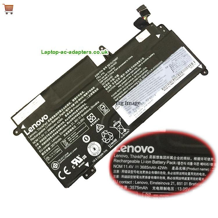 LENOVO Thinkpad13 Laptop Battery 3685mAh, 42Wh