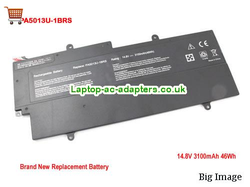 TOSHIBA G66C0002GC10 Laptop Battery 3000mAh, 47Wh