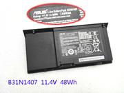 UK ASUS B31N1407 Battery For B451 B451JA B451JA-1A Laptop