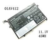 UK Genuine Lenovo 01AV412 SB10K97569 Battery 45Wh 11.1V