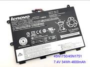 UK Genuine Lenovo ThinkPad Yoga 11E Laptop Battery 45N1750 45N1751