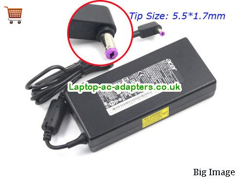 7.1A 19V Laptop AC Adapter ACER19V7.1A135W-NEW-5.5x1.7mm