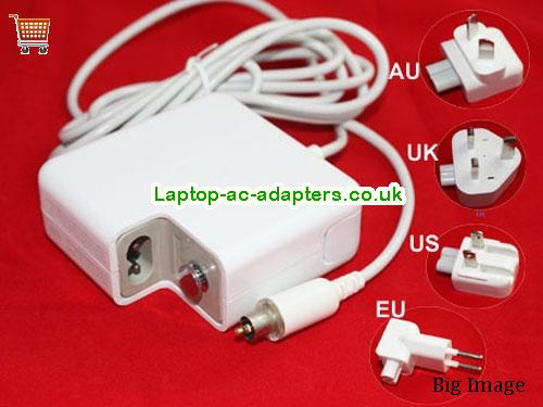 2.65A 24.5V Laptop AC Adapter APPLE24.5V2.65A65W-7.7x2.5mm-Wall-W