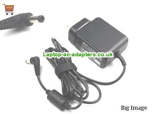 Discount Asus 24w Laptop Charger, Asus 24w Laptop Ac Adapter In Stock ASUS12V2A24W-4.8x1.7mm-us-wall