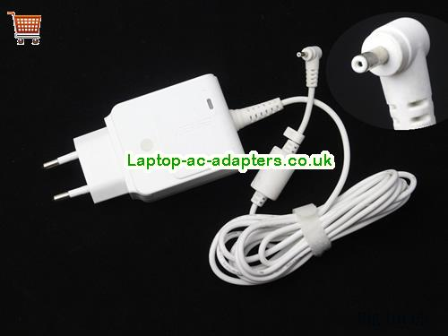 1.58A 19V Laptop AC Adapter ASUS19V1.58A30W-2.31x0.7mm-EU-wall-W