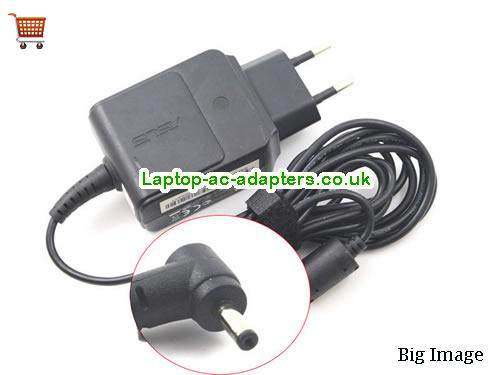 1.58A 19V Laptop AC Adapter ASUS19V1.58A30W-2.31x0.7mm-EU-wall