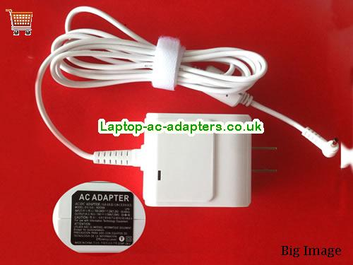 1.58A 19V Laptop AC Adapter ASUS19V1.58A30W-2.31x0.7mm-US-OEM