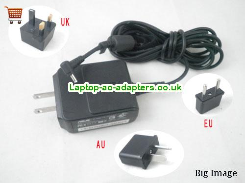 1.58A 19V Laptop AC Adapter ASUS19V1.58A30W-2.31x0.7mm-us-wall