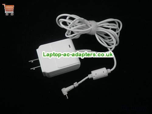 1.58A 19V Laptop AC Adapter ASUS19V1.58A30W-2.31x0.7mm-wall-us-w