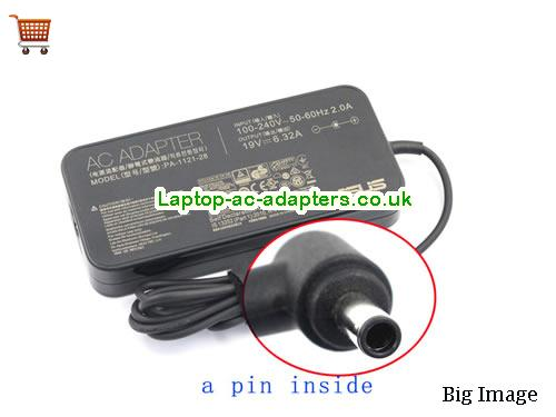 Discount Asus 120w Laptop Charger, Asus 120w Laptop Ac Adapter In Stock ASUS19V6.32A120W-4.5X2.8mm-Slim