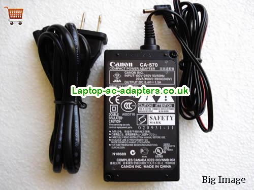 Discount CANON 8.4V  1.5A  Laptop AC Adapter, low price CANON 8.4V  1.5A  laptop charger