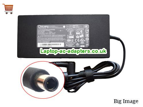 System76 Laptop AC Adapter 19V 7.89A 150W A pin in center CHICONY19V7.89A150W-7.4x5.0mm