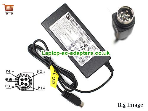 ABUS TVVRRR33004 Adapter, ABUS TVVRRR33004 AC Adapter, Power Supply, ABUS TVVRRR33004 Laptop Charger CWT12V5A60W-4Pin-type2