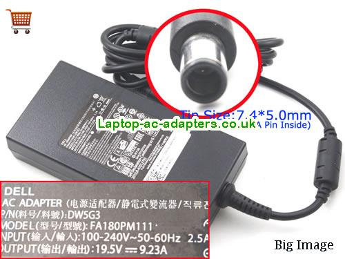 DELL FA180PM111 Adapter, DELL FA180PM111 AC Adapter, Power Supply, DELL FA180PM111 Laptop Charger