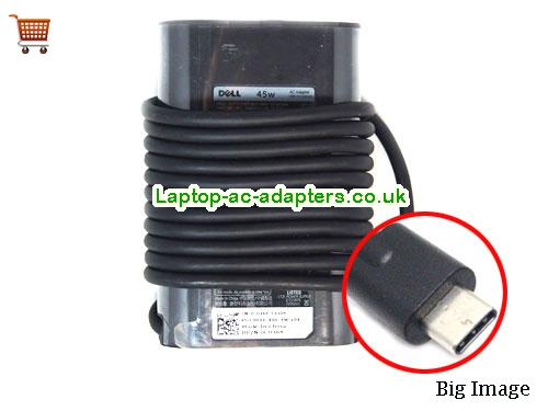 2.25A 20V Laptop AC Adapter DELL20V2.25A45W-Type-C