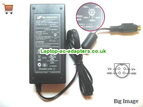 Discount Fsp 30w Laptop Charger, Fsp 30w Laptop Ac Adapter In Stock FSP12V2.5A30W-4PIN