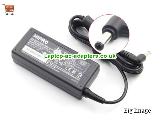 Discount Hipro 19v AC Adapter, Hipro 19v Laptop Ac Adapter In Stock HIPRO19V3.43A65W-5.5x2.5mm