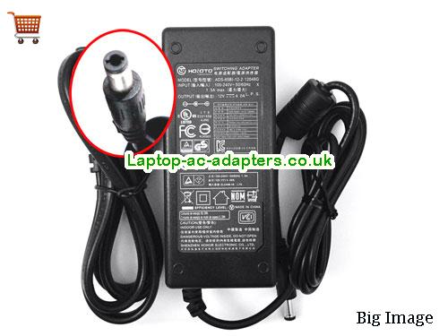 Hoioto Laptop AC Adapter 12V 4A 48W  HOIOTO12V4A48W-5.5x2.5mm