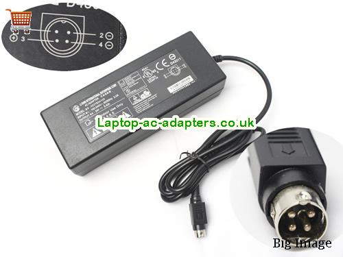 Genuine LISHIN 0227B24130 130W Power Supply AC Adapter for LCD LED TV LCDLS24V5.42A130W-4PIN