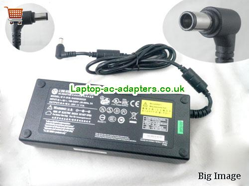 Genuine Alienware M17X 220 Watt Round Non Pin AC Adapter 0405B20220 LISHIN20V11A-7.4x5.0mm