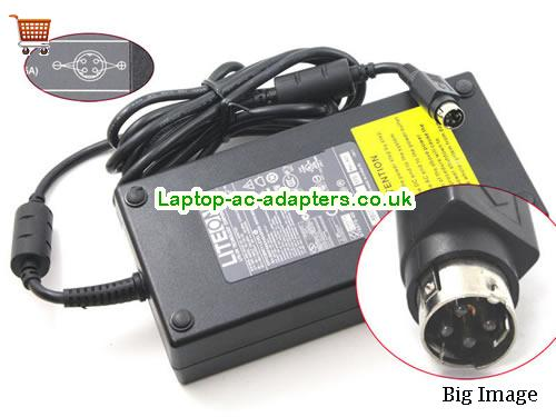 9.5A 19V Laptop AC Adapter LITEON19V9.5A180W-4PIN