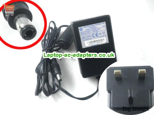 Li Shin Laptop AC Adapter 12V 1.5A 18W  LS12V1.5A18W-5.5x2.5mm-UK