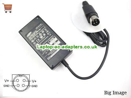 Discount Samsung 12v AC Adapter, Samsung 12v Laptop Ac Adapter In Stock SAMSUNG12V4A48W-4PIN