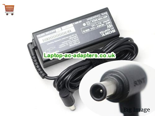 Discount Sony 16v AC Adapter, Sony 16v Laptop Ac Adapter In Stock SONY16V1.9A30W-6.5X4.4mm