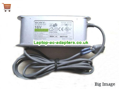 Discount Sony 16v AC Adapter, Sony 16v Laptop Ac Adapter In Stock SONY16V2.5A40W-2PIN-GREY
