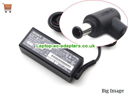 SONY VGP-AC19V76 Adapter, SONY VGP-AC19V76 AC Adapter, Power Supply, SONY VGP-AC19V76 Laptop Charger