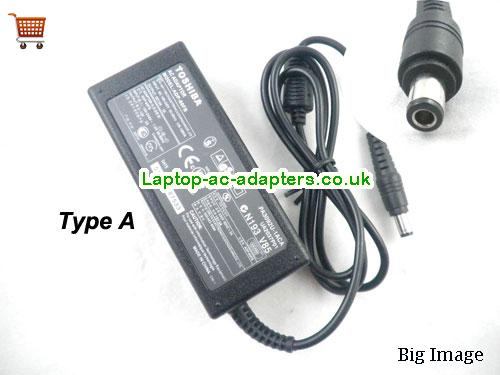 TOSHIBA PA3283U-3ACA Adapter, TOSHIBA PA3283U-3ACA AC Adapter, Power Supply, TOSHIBA PA3283U-3ACA Laptop Charger