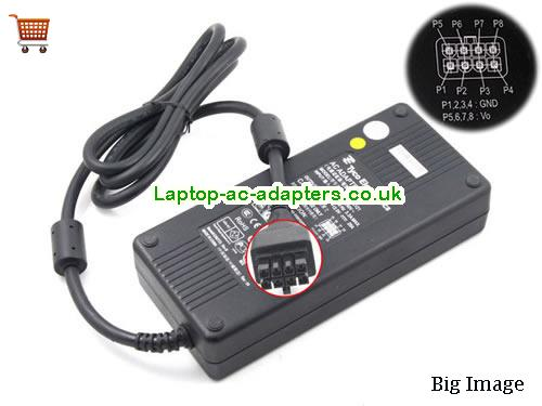 GENUINE Tyco Electronics Ac Adapter 12V 20A 240W CAD240121 ELO ALL-IN-ONE Power Supply Tyco12V20A240W-8holes
