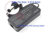 ASUS 19.5V 9.23A AC Adapter, Laptop Charger, 180W Laptop Power Supply, Plug Size 5.5x2.5mm